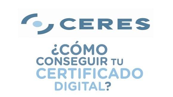 ceres Certificado digital