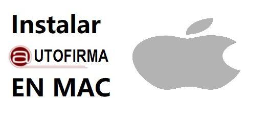 instalar autofirma en ordenadores mac