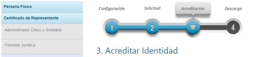 acreditación FNMT