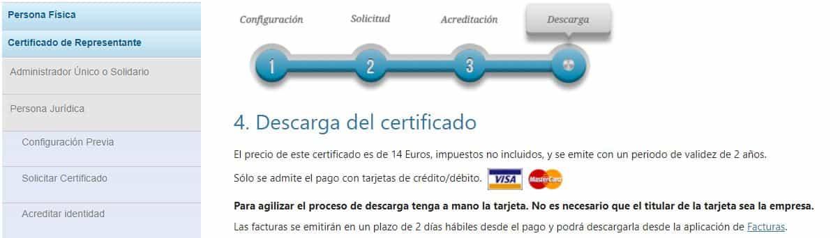 descarga el certificado fnmt persona juridica