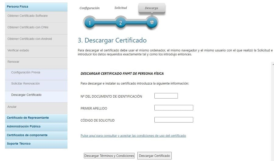 renovar certificado digital