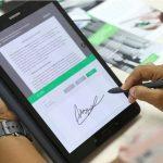 Como Usar Firma Digital En Una Tablet