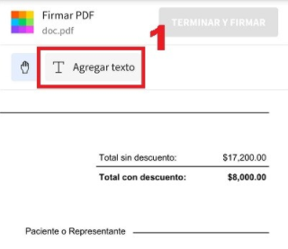 firmar digital en small pdf